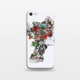 iPhone 5C  Woman II by Riza Peker (woman,botanical,flowers,digitalart)