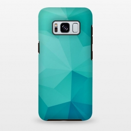 Galaxy S8 plus  Sea Horizon by  (Triangle,Triangles,Geometric,math,ocean,turquoise,Minimal,Minimalistic)