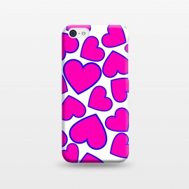 iPhone 5C  heart pattern 2 by MALLIKA