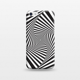 Illusion Hole 2 by Sitchko Igor (Texture, Pattern, Geometry, Vector, Digital art, geometric, Minimal, Minimalistic, cover,Black and white, lines, illusion)