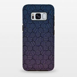 Galaxy S8 plus  Hexagon Rotation by  (Texture, Pattern, Geometry, Vector, Digital art, geometric, Minimal, Minimalistic, cover,lines)