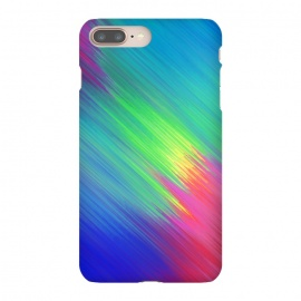 iPhone 8/7 plus  Colorful Movement by  (Texture, Pattern, Geometry, Vector, Digital art, geometric, Minimal, Minimalistic, cover,colorful,colors,splash,blur)