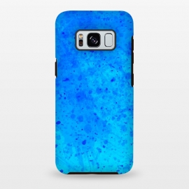 Galaxy S8+  Blue Chaos by Sitchko Igor (Texture, Pattern, Geometry, Vector, Digital art, geometric, Minimal, Minimalistic, cover,splash)