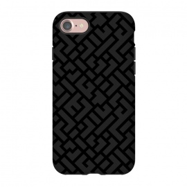 iPhone 8/7  Black Labyrinth by Sitchko Igor