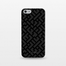 iPhone 5/5E/5s  Black Labyrinth by Sitchko Igor