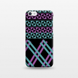 iPhone 5C  lines pattern 2 by MALLIKA