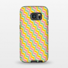 Galaxy S7  Colorful Chavron by Dhruv Narelia