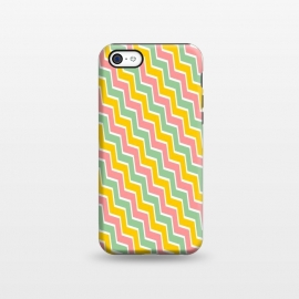 iPhone 5C  Colorful Chavron by Dhruv Narelia