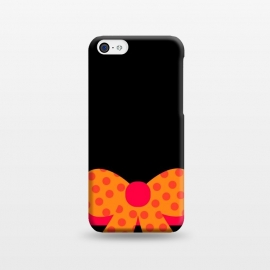 iPhone 5C  bow pattern by MALLIKA