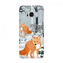 Fox Snow Walk by Uma Prabhakar Gokhale