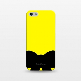iPhone 5/5E/5s  black bow pattern by MALLIKA