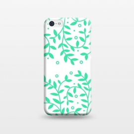 iPhone 5C  floral pattern 3 by MALLIKA