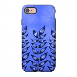 iPhone 8/7  Beautiful Decorative Blue Plant With Pointy Leaves by Boriana Giormova