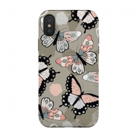iPhone Xs / X  Butterfly garden 001 by