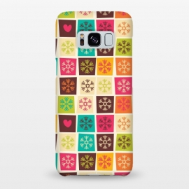 Galaxy S8+  Snowflakes and Hearts by Jelena Obradovic
