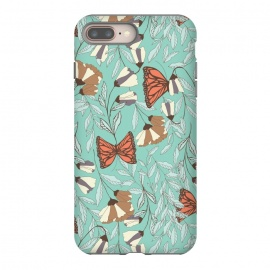 iPhone 8/7 plus  Romantic Butterflies Blue by Jelena Obradovic