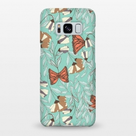Galaxy S8+  Romantic Butterflies Blue by Jelena Obradovic
