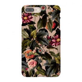 iPhone 8/7 plus  Vintage Garden II by  (floral,botanical,tropical,pattern,garden,forest,jungle,tropic,flora,flowers)