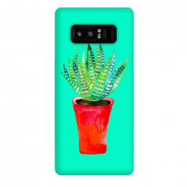 Galaxy Note 8  Potted Succulent  by  (succulent,texture,plant,botanical,red,pink,greenery,tropical,desert)