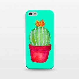 iPhone 5/5E/5s  Round Succulent by  (succulent,botanical,tropical,plant,cacti,cactus)