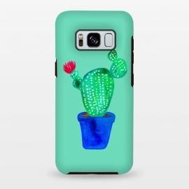 Galaxy S8 plus  Mini Cactus  by  (cacti,cactus,plant,botanical,green,flower)