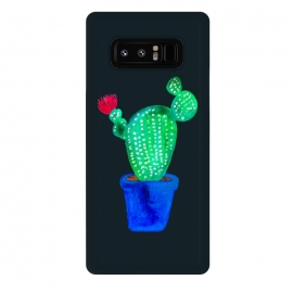 Galaxy Note 8  Red Flower Cactus by  (cactus,cacti,botanical,floral,plant,red,pink,plants,green)