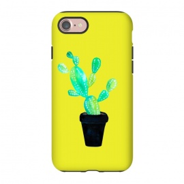iPhone 8/7  Mustard Cacti  by Amaya Brydon (cacti,catctus,plants,botanical,yellow,pot,plant)