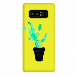 Galaxy Note 8  Mustard Cacti  by  (cacti,catctus,plants,botanical,yellow,pot,plant)