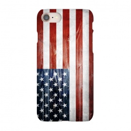 iPhone 8/7  American Wooden Flag by Nicklas Gustafsson (america,usa,flag,wooden,texture,patriotic)
