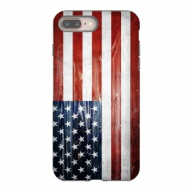 iPhone 8/7 plus  American Wooden Flag by Nicklas Gustafsson (america,usa,flag,wooden,texture,patriotic)