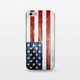 iPhone 5/5E/5s  American Wooden Flag by Nicklas Gustafsson