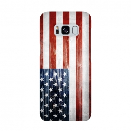 Galaxy S8  American Wooden Flag by Nicklas Gustafsson (america,usa,flag,wooden,texture,patriotic)