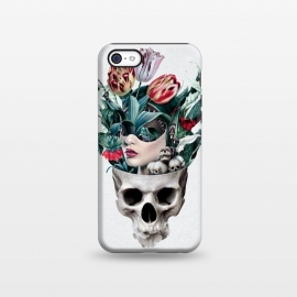iPhone 5C  Skull Girl by Riza Peker