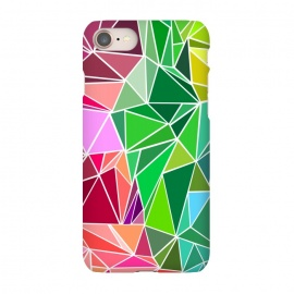 iPhone 8/7  Polygonal colorful pattern by Dhruv Narelia