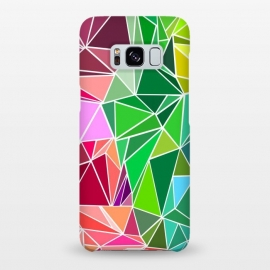 Galaxy S8+  Polygonal colorful pattern by Dhruv Narelia