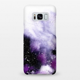 Galaxy S8+  Oceanic VIolet by Amaya Brydon (purple,violet,texture,abstract,cosmic,depth)