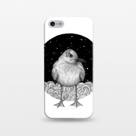 iPhone 5/5E/5s  Seagull on a Starry Night by ECMazur