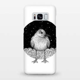 Galaxy S8+  Seagull on a Starry Night by ECMazur