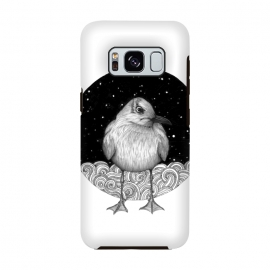 Galaxy S8  Seagull on a Starry Night by ECMazur