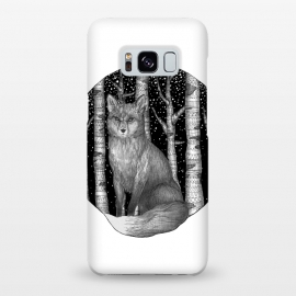 Galaxy S8+  Fox and Forest by ECMazur