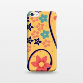 iPhone 5C  floral pattern 6 by MALLIKA