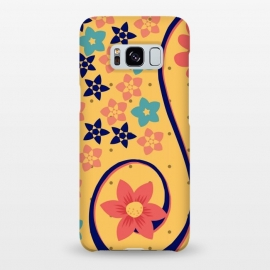 Galaxy S8+  floral pattern 6 by MALLIKA