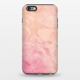 iPhone 6/6s plus  Peach pink marble by Oana