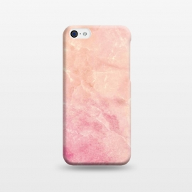 iPhone 5C  Peach pink marble by Oana