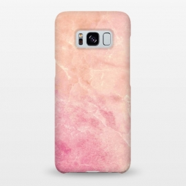 Galaxy S8+  Peach pink marble by Oana