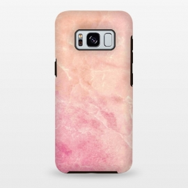 Galaxy S8 plus  Peach pink marble by