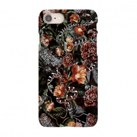 iPhone 8/7  Snake by Riza Peker (snake,botaical,floral,flowers,fall,colors)