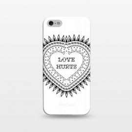 iPhone 5/5E/5s  Love hurts by Laura Nagel