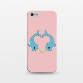 iPhone 5/5E/5s  Narwhal heart by Laura Nagel
