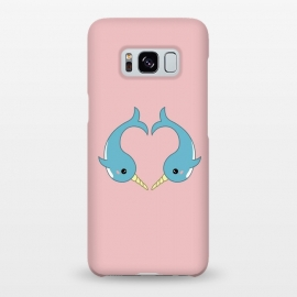 Galaxy S8+  Narwhal heart by Laura Nagel